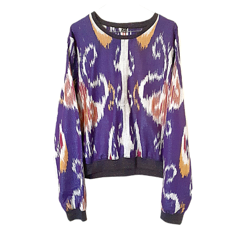 Dark Lilac Bluse